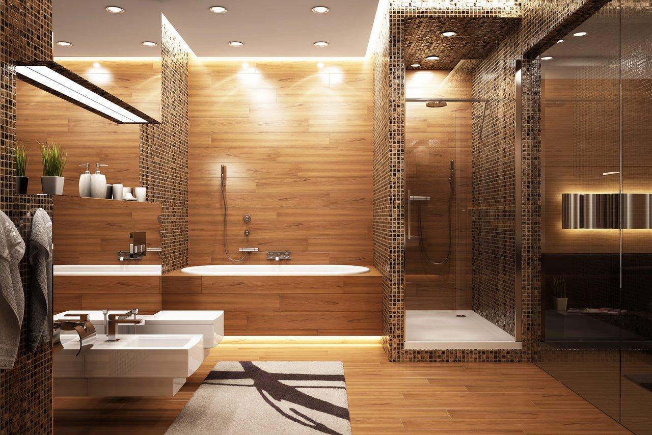 holzboden für badezimmer | jtleigh - hausgestaltung ideen, Badezimmer